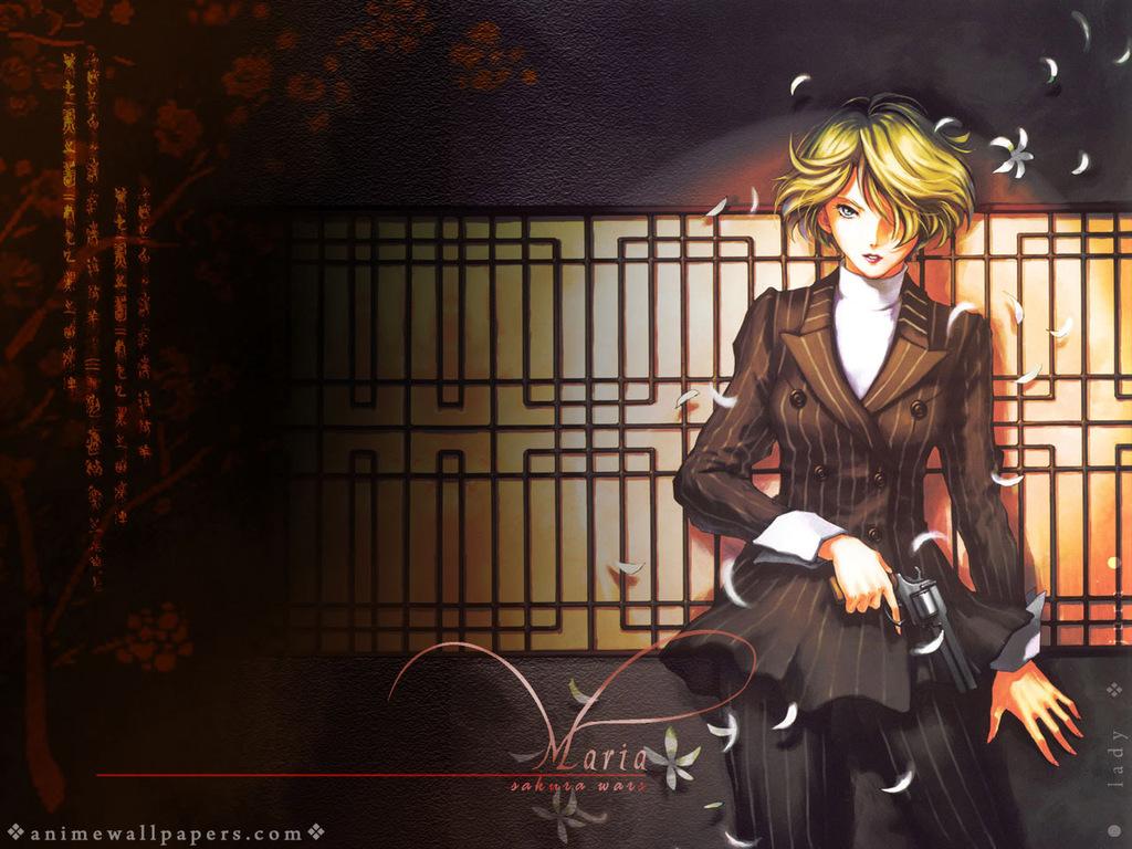 Sakura Wars Anime Wallpaper # 7