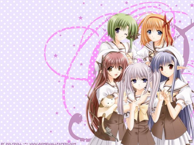 Shuffle! Anime Wallpaper #7