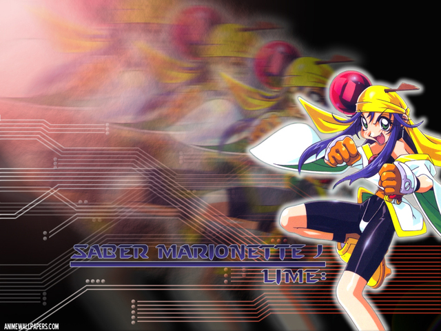 Saber Marionette J Anime Wallpaper #2