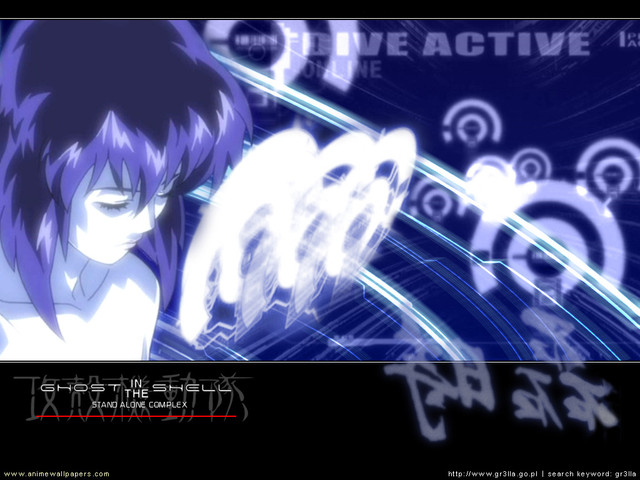 Ghost in the Shell: SAC Anime Wallpaper #13