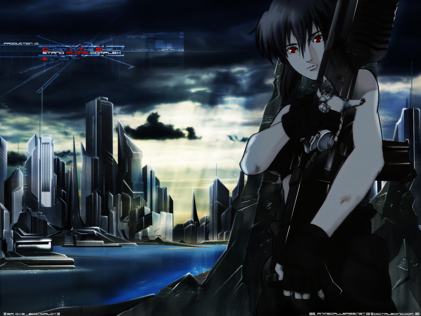 Ghost In The Shell Sac Wallpaper 16 Anime Wallpapers Com