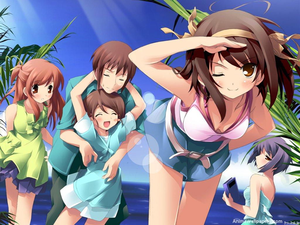 The Melancholy of Haruhi Suzumiya Anime Wallpaper # 13