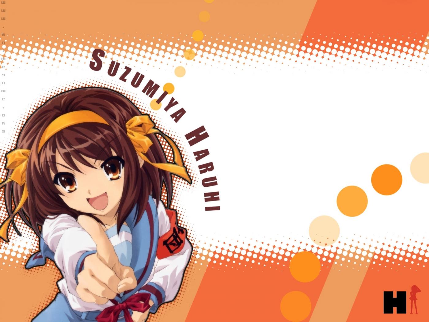 The Melancholy of Haruhi Suzumiya Anime Wallpaper # 17