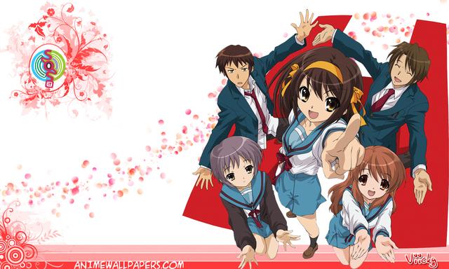 The Melancholy of Haruhi Suzumiya Anime Wallpaper #36