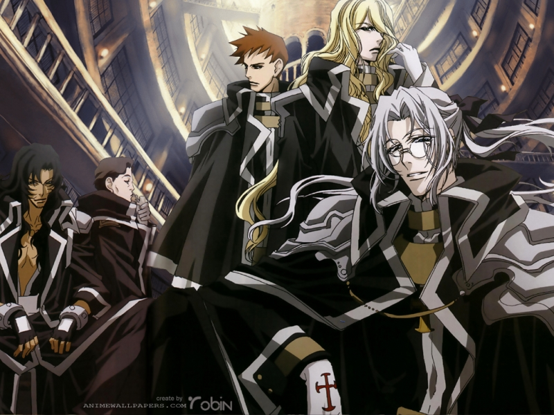 Trinity Blood Anime Wallpaper # 2