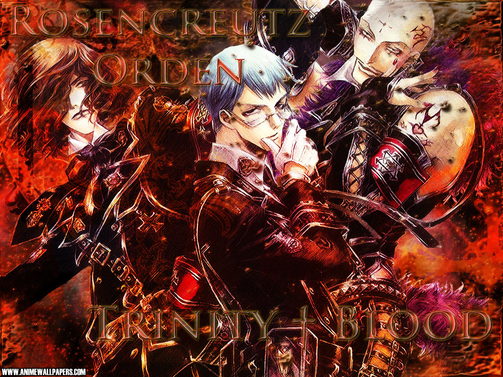 Trinity Blood Anime Wallpaper # 4