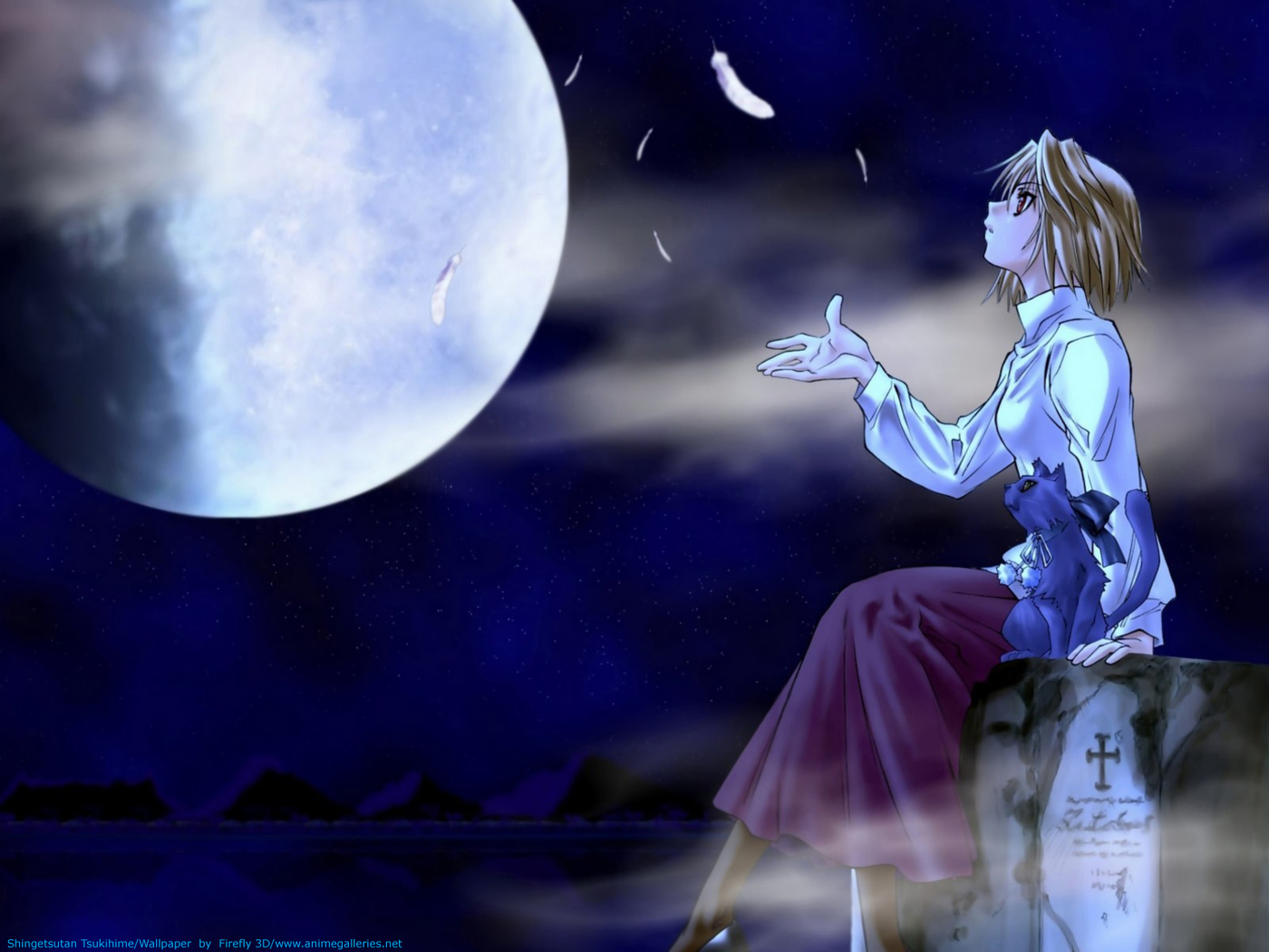 Tsukihime - Lunar Legend Anime Wallpaper # 4