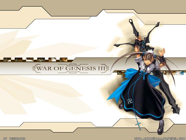 War of Genesis III Anime Wallpaper #27