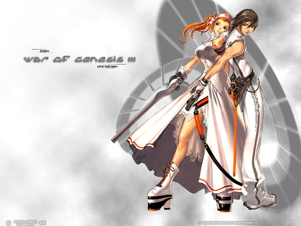 War of Genesis III Anime Wallpaper # 37