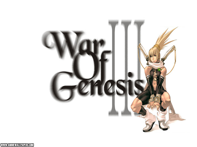 War of Genesis III Anime Wallpaper #52