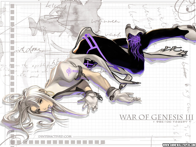 War of Genesis III Anime Wallpaper # 62