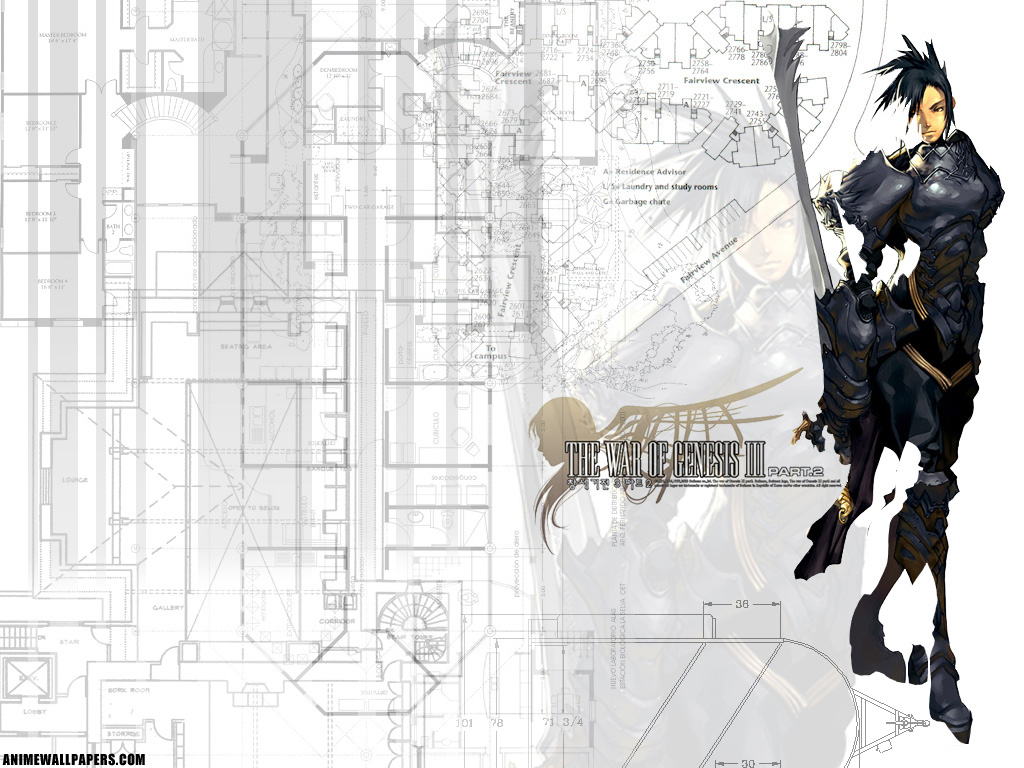 War of Genesis III Anime Wallpaper # 6