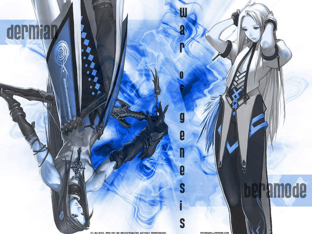 War of Genesis III Anime Wallpaper #7