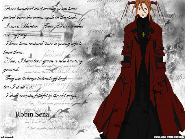 Witch Hunter Robin Anime Wallpaper #3