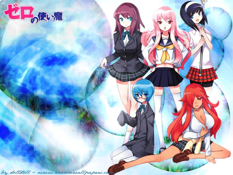 Zero no Tsukaima Anime Wallpaper # 4